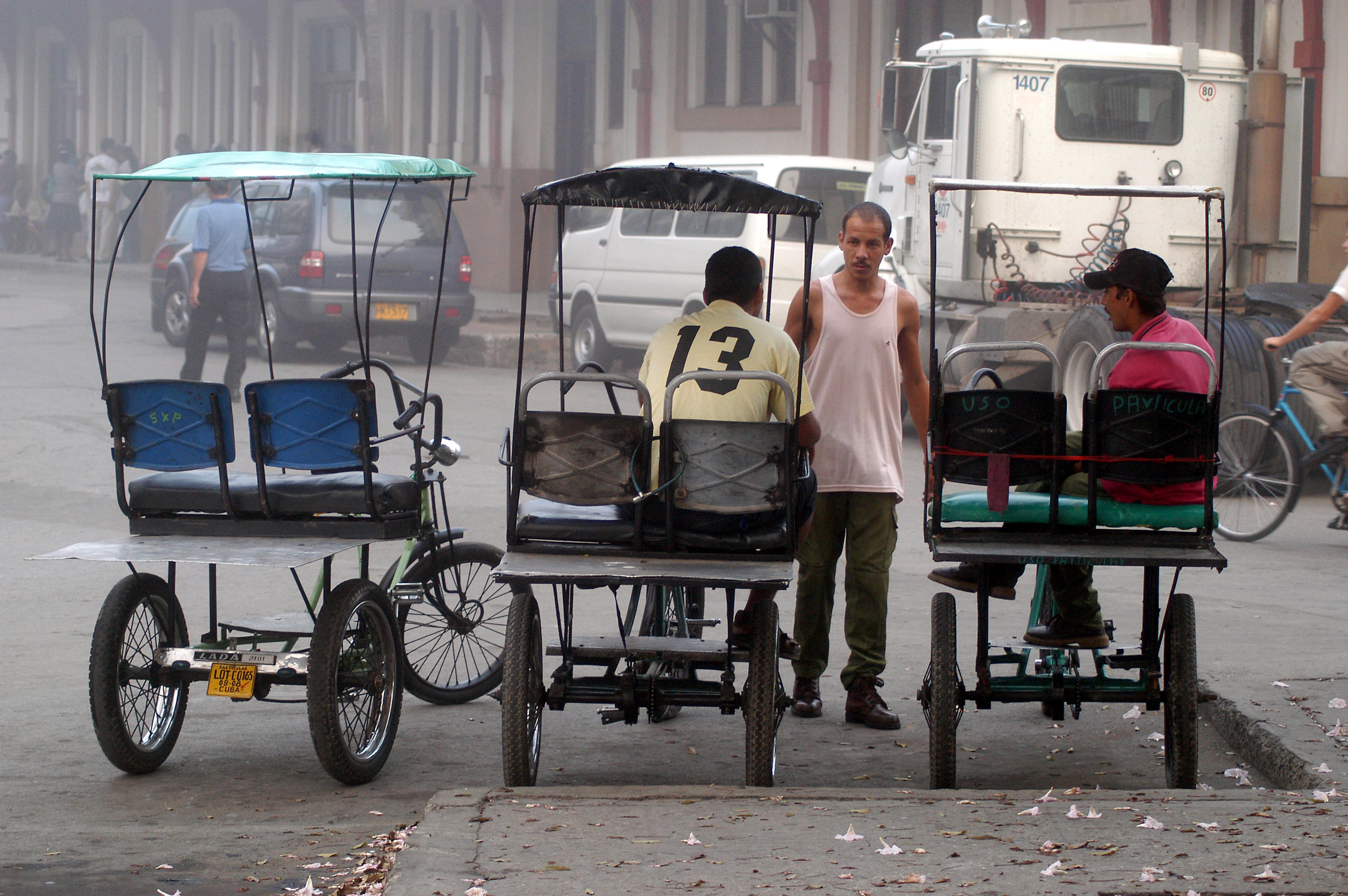 Three-Bike-Taxis